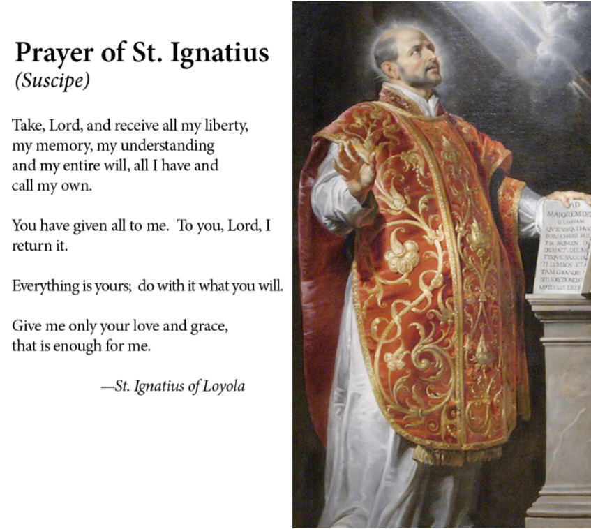 saint ignatius milf personals Saint ignatius of loyola (basque: ignazio loiolakoa, spanish: ignacio de loyola c 23 october 1491 – 31 july 1556) was a spanish basque priest and theologian, who founded the religious order called the society of jesus (jesuits) and became its.